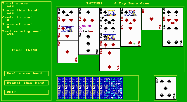Thieves - A Solitaire Card Game